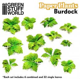 Papierpflanzen - Klette
