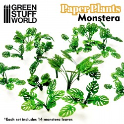 Plantas de Papel - Monstera