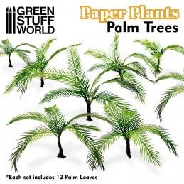 Papierpflanzen - Palme