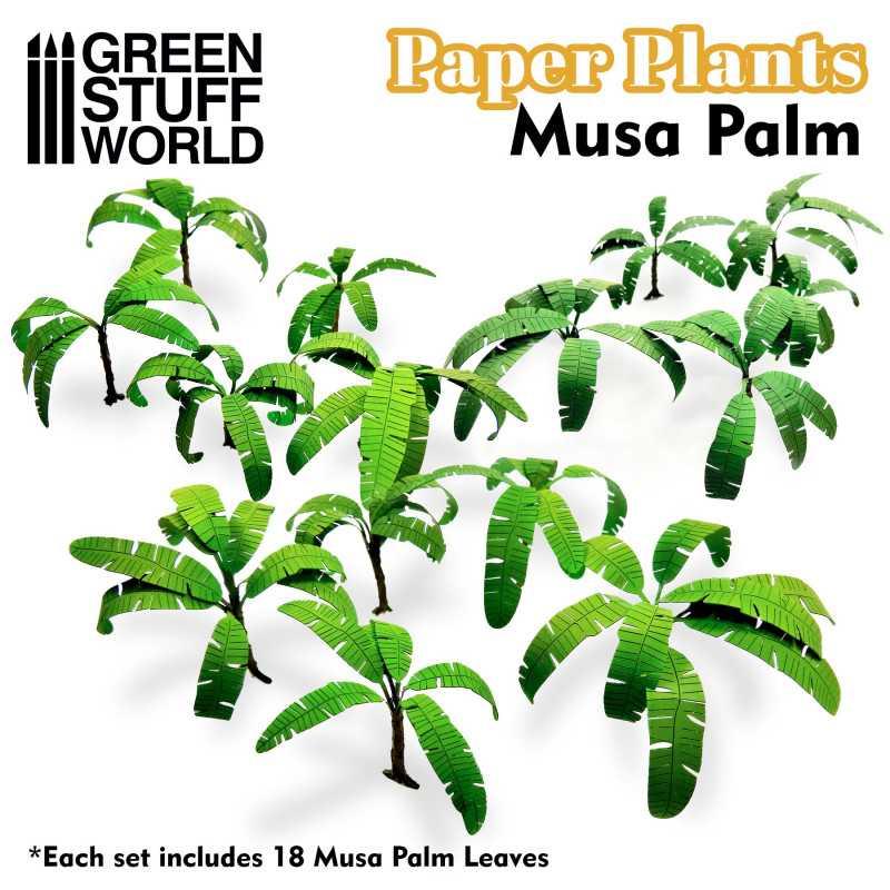 Plantas de Papel - Plataneros