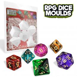 Moules de Dés RPG
