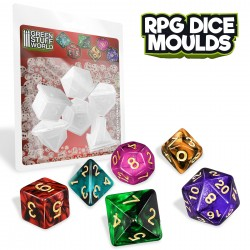 RPG Dice Moulds