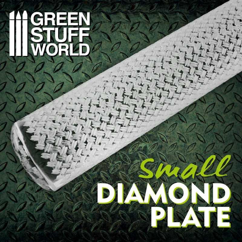 Rodillo Texturizado Chapa Diamantada