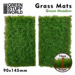 Tapetes Recortados de Hierba - Pradera Verde