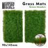 Grasmattenausschnitte - Grüne Wiese