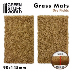 Grass Mat Cutouts - Dry Fields
