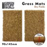 Grass Mat Cutouts - Dry Fields