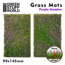Tapetes Recortados de Hierba - Prado Purpura