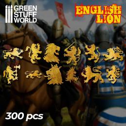 Englischer Löwe Symbole
