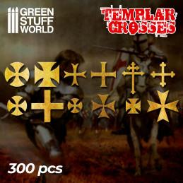 Templerkreuz Symbole