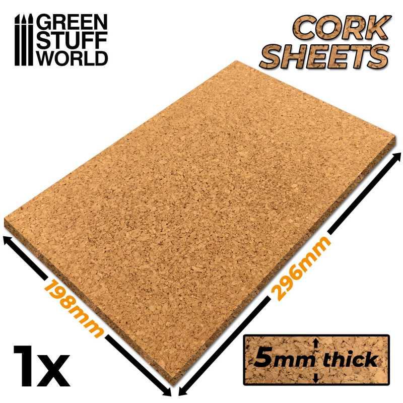 Planchas de Corcho 5mm