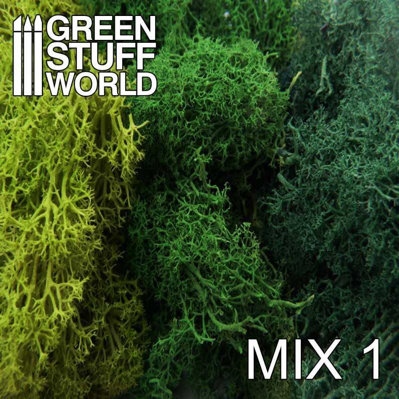 Musgo - Mezcla Verdes