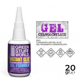 Pegamento Cianocrilato 20gr. - formula GEL
