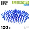 BLUE Resin Crystals