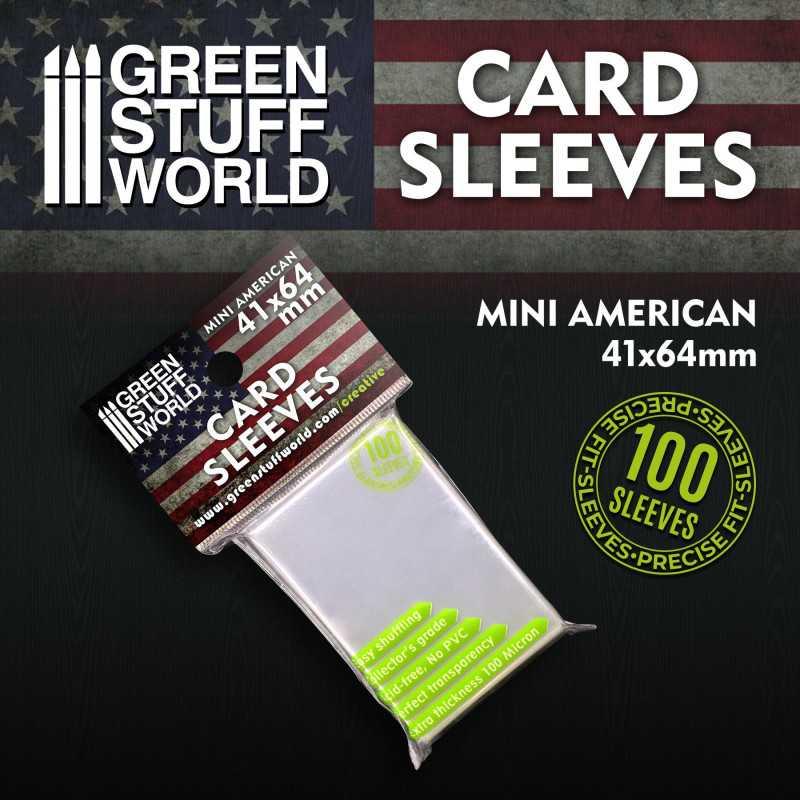 Fundas para Cartas - Mini Americano 41x64mm