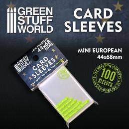 Pochettes de Cartes - Mini Européen 44x68mm