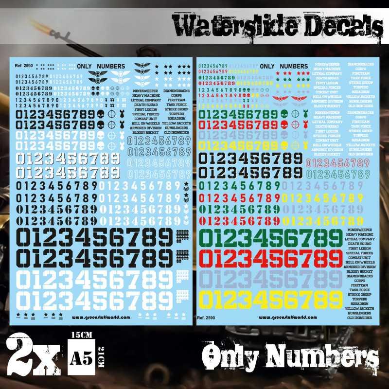Calcas al agua - Solo Numeros