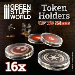 16x Token Holders 35mm