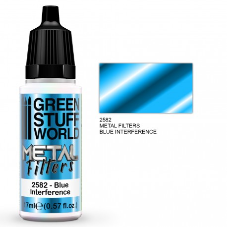 Metal Filters - Blue Interference