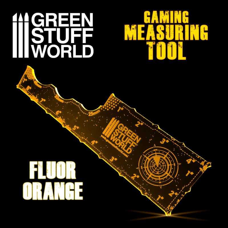 Medidor Gaming - Fluor Naranja
