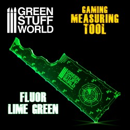 Medidor Gaming - Verde Lima Fluor