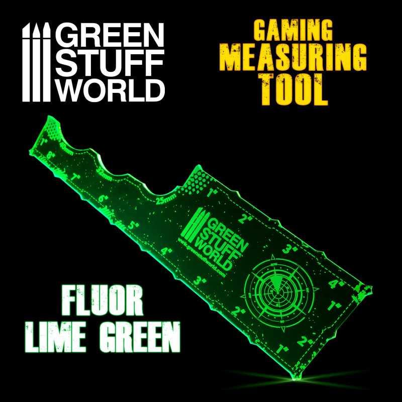 Gaming Measuring Tool - Fluor Lime Green