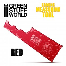 Gaming Measuring Tool - Red