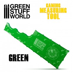 Gaming Measuring Tool - Green