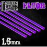 Acrylic Rods - Round 1.6 mm Fluor PURPLE