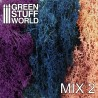Islandmoss - Blue Violet and Light Pink Mix