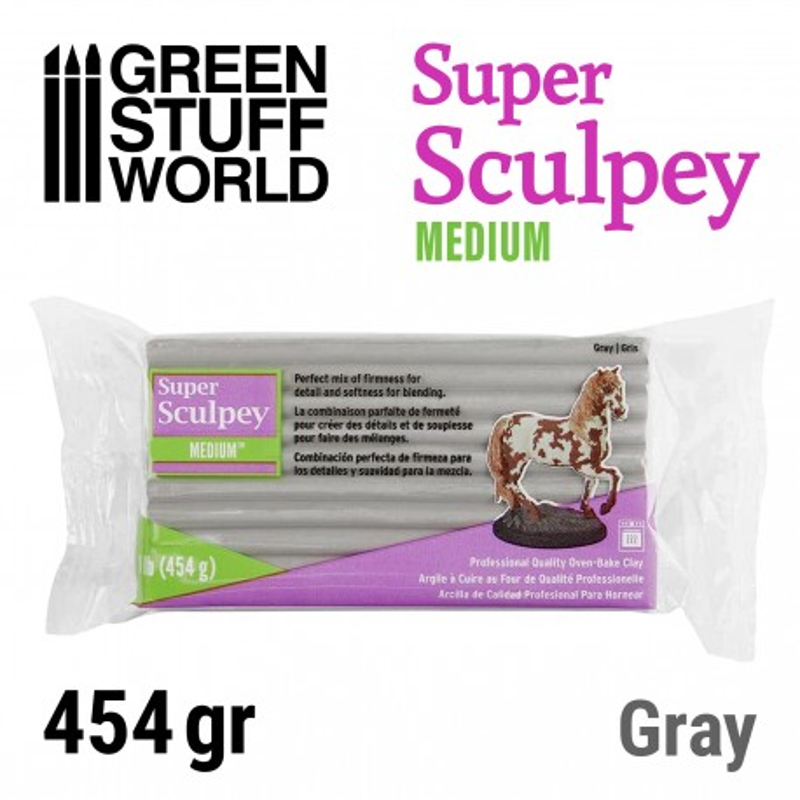 Super Sculpey Medium 454 gr.