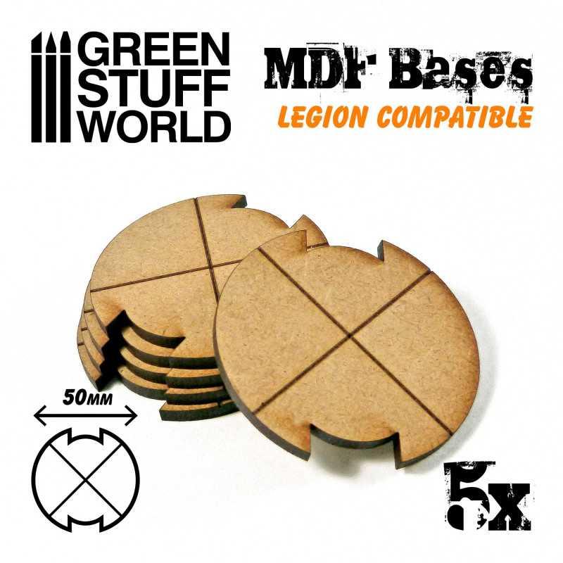 Peanas DM - Redondas 50 mm - Starwars legion