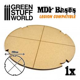 Socles ROND 150 mm en MDF (Legion)