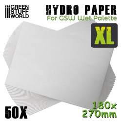 Hydro Paper XL x50 (180x270mm)