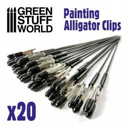 Alligator Clips x20