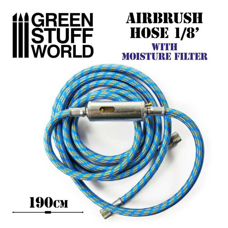 Airbrush-Stoffschlauch mit Feuchtigkeitsfilter