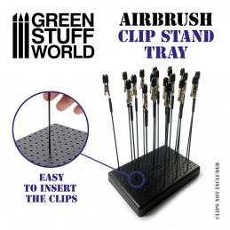 Airbrush Pinzettenbasis