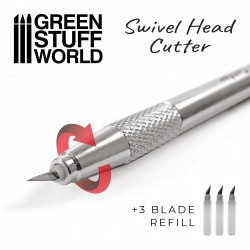 Metal Swivelhead HOBBY KNIFE