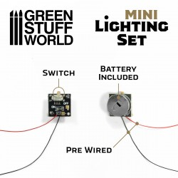 Mini LED Lighting Kit with Switch