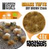 Grasbüscheln - Selbstklebend - 12mm - Getrocknet Braun