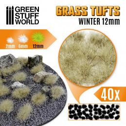 Touffes d'herbe XL - 12mm - Auto-Adhésif - HIVER