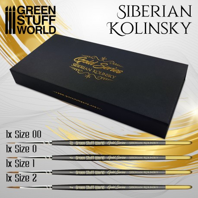 Set Pinceles Premium - GOLD SERIES