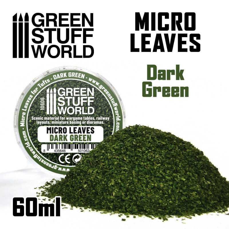 MICRO HOJAS - Mix verde oscuro