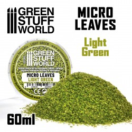 MICRO FEUILLES - Mélange vert clair