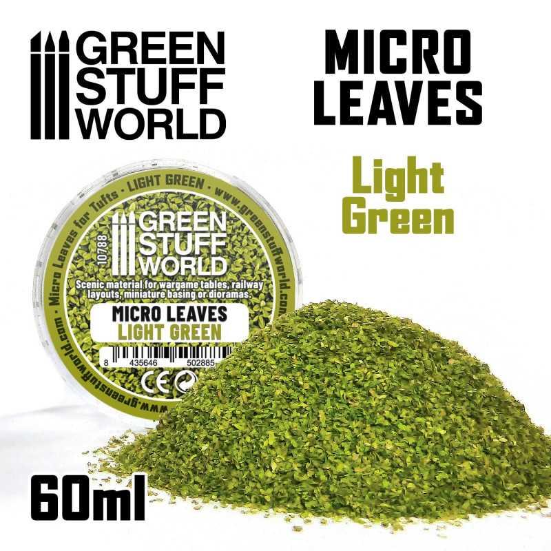 MICRO HOJAS - Mix verde claro