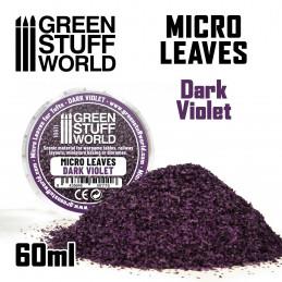 MICRO FEUILLES - Mélange de violet foncé