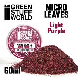 MICRO HOJAS - Mix violeta claro