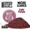 Micro Leaves - Dark Violet Mix