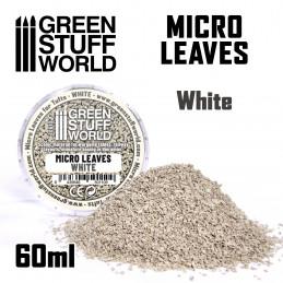 MICRO FEUILLES - Mélange blanc