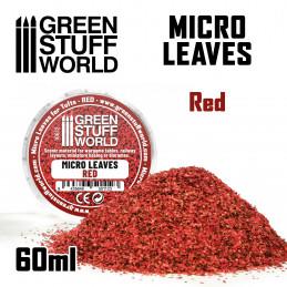 MICRO FEUILLES - Mélange rouge